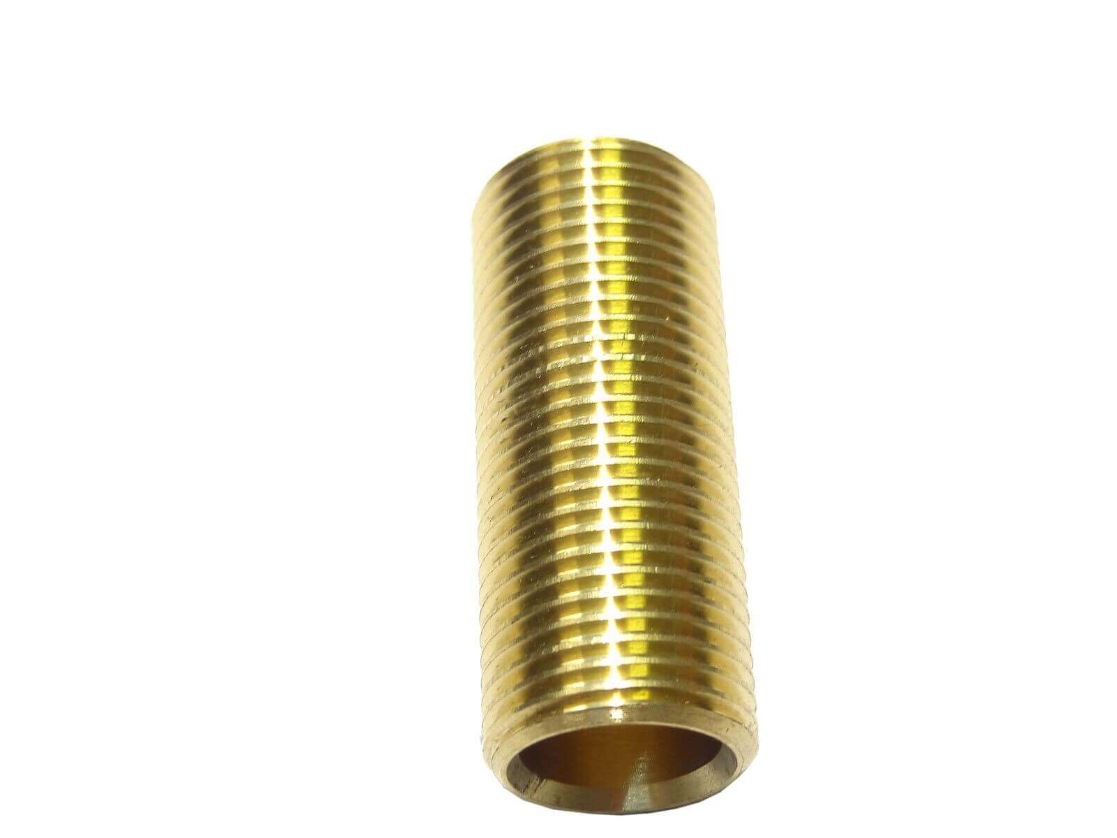 4 Brass Running Nipple BSP Threaded